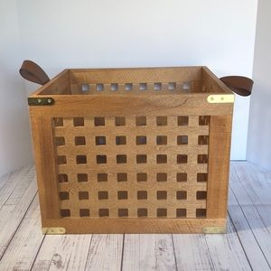 Wooden Crate Storage Container